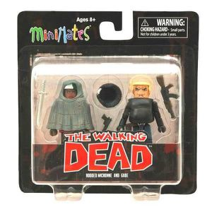 FIGURINE - PERSONNAGE The Walking Dead Minimates Série 4 Pack 2 Figurine