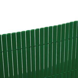 CLÔTURE - GRILLAGE Canisse double en PVC 3 x 2 m verte EG54320