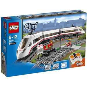 ASSEMBLAGE CONSTRUCTION LEGO® City 60051 Train de Passagers à grande Vites