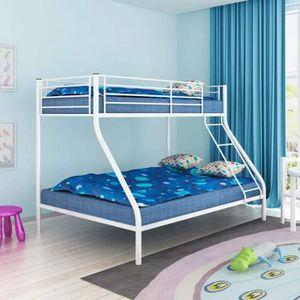 STRUCTURE DE LIT Cadre de lit superposé pour enfant Structure de li