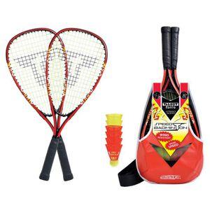 KIT BADMINTON TALBOT TORRO Set de Badminton Speed 5000 - 2 raque