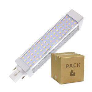 AMPOULE - LED PACK Ampoule LED G24 12W (4 Un) Blanc Froid 6000K-