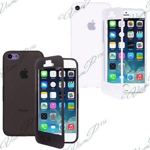 HOUSSE - ÉTUI  Lot 2 Coque gel rabat Apple iPhone 6 Plus