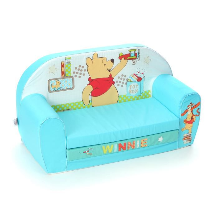 Winnie canap mousse sofa tidy time disney baby - Canape enfant places ...