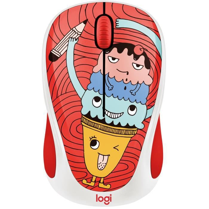 LOGITECH Souris Sans Fil M238 Triple Scoop