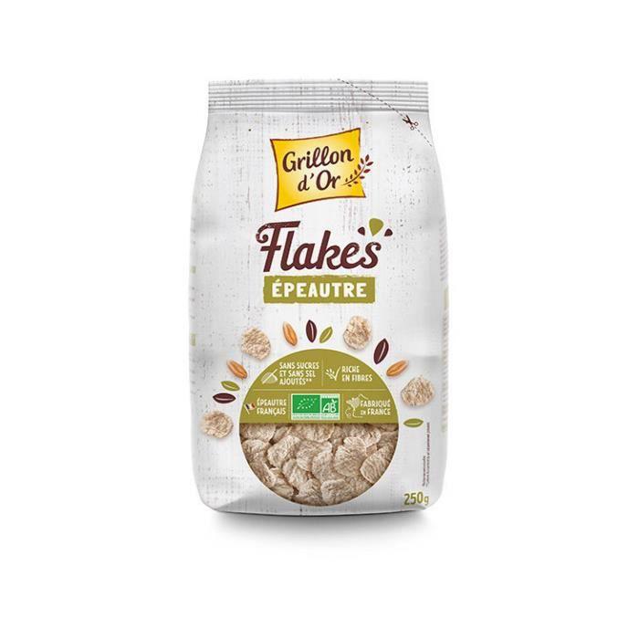 Grillon d'or - Flakes d'épeautre 250gr