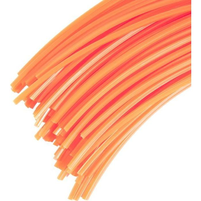 60 Brins de fil pour tête de débroussailleuse