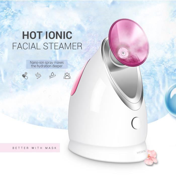 vapeur ozone hydratant visage vaporisateur nébuliseur eau visage vapeur vapeur visage chaud froid vaporizador facial vapeu