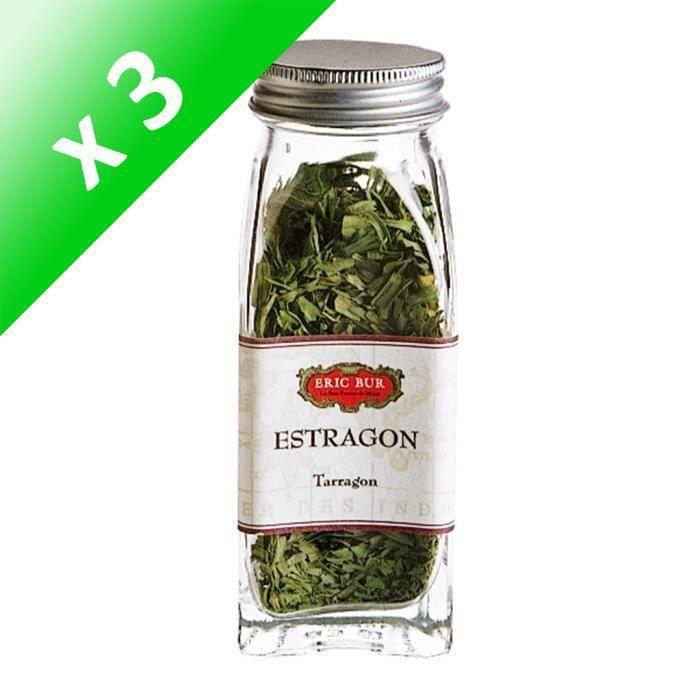 [LOT DE 3] ERIC BUR Epices Estragon - 5g
