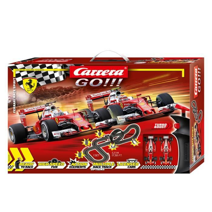 Carrera GO!!! 62505 Coffret Ferrari Race Spirit