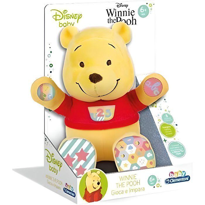 Bébé Disney en peluche Winnie l'Ourson parlant et apprenant