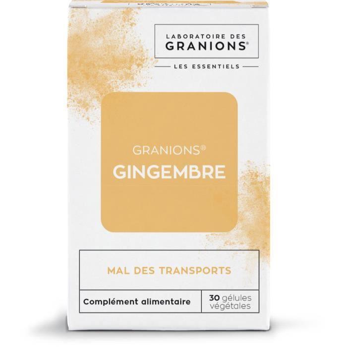 GRANIONS® GINGEMBRE - 30 GÉLULES