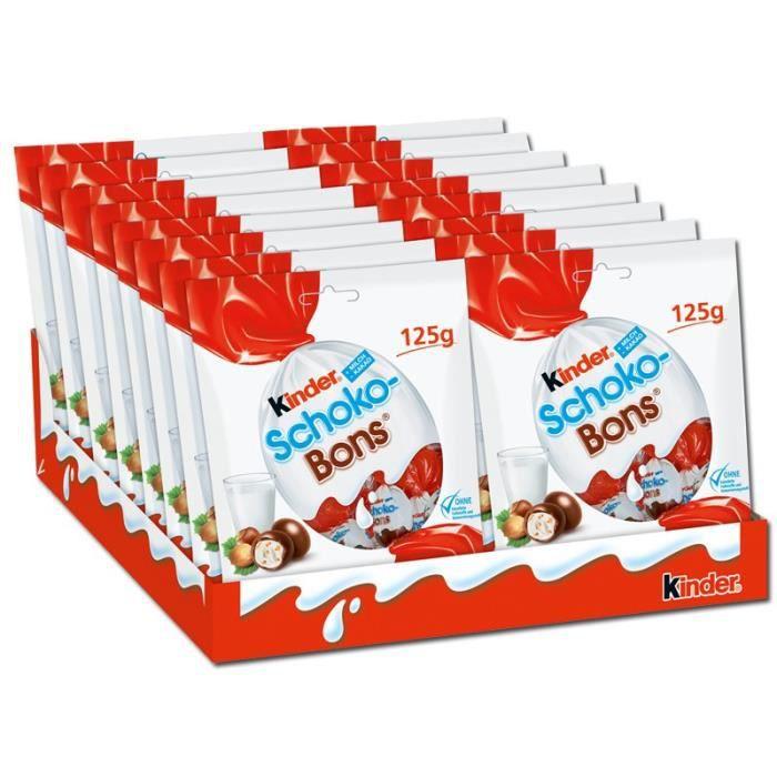 Ferrero Kinder schoko-Bons, Chocolat Bonbon 16 piéces