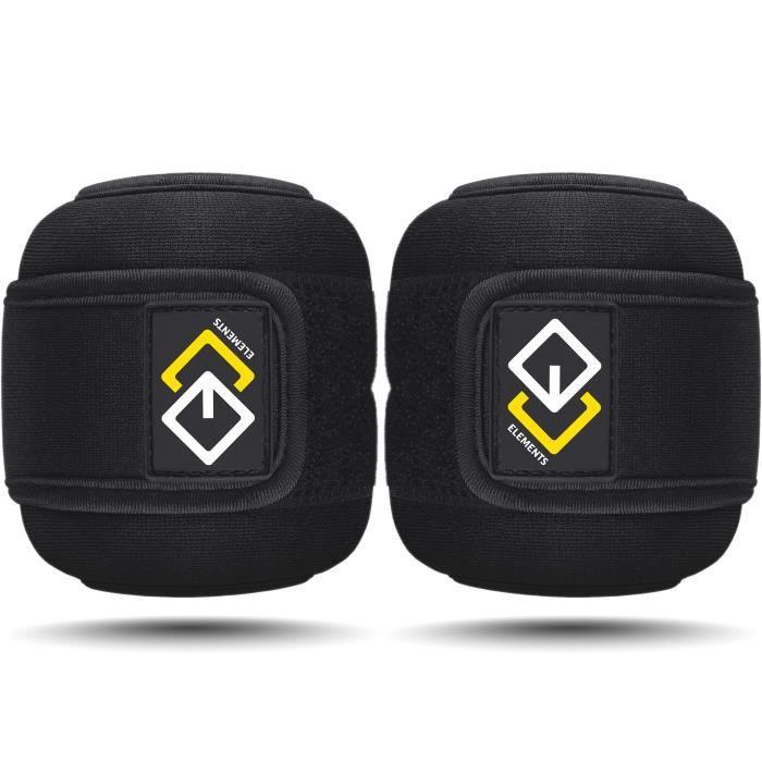 Poids pour Poignets et Chevilles 2 x 0,5 KG - Lests pour Bras et Jambes - Bracelets Lestés pour Sport, Fitness, Musculation