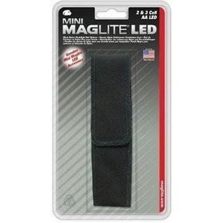 Maglite Etui nylon pour lampe Mini 2AA et Mini 3AA LED Noir…