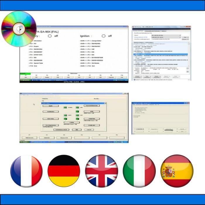Pack Diagnostic Auto Pro - Compatible avec BMW et Mini - INPA 5.0.6 NCS Expert NCS Dummy EDIABAS ISTA-P & ISTA-D RHEINGOLD
