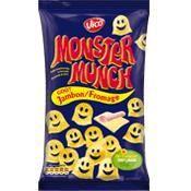 Produits soufflés jambon fromage 85g Monster Munch