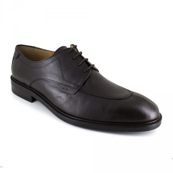 Chaussures Homme Derby Peter Blade Cuir Noir PLATOON-2