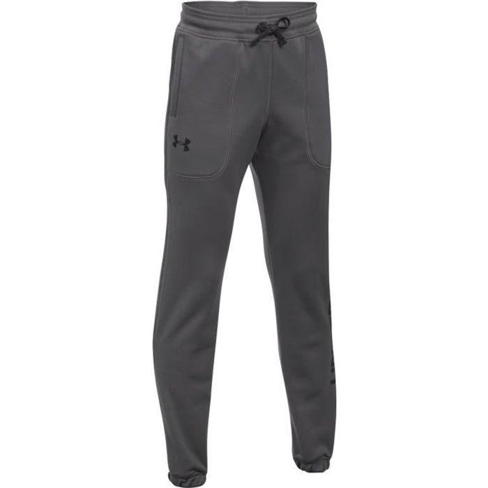 UNDER ARMOUR Af Branded Pantalon Jogging Garçon - Taille 16 ans - GRIS