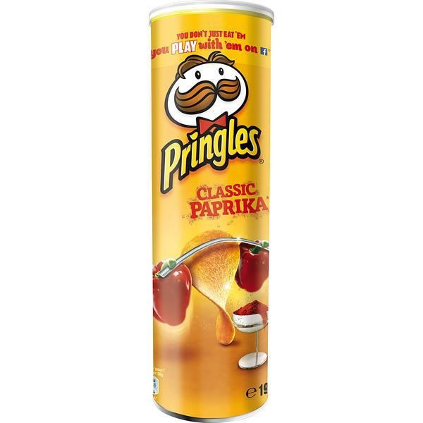 Pringles Classic Paprika Chips 190g