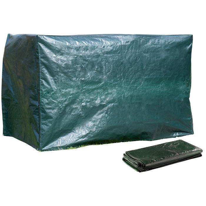 Bâche XL pour balancelle de jardin, 250 x 160 x 150 cm