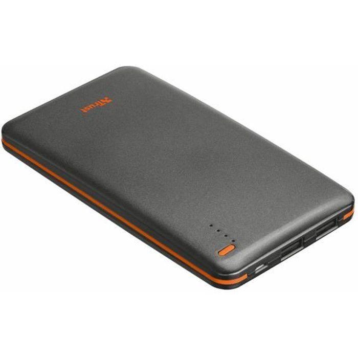 Trust - 20905 - Batterie externe Power Bank pour Smartphone et Tablette 8000 mAh - Noir