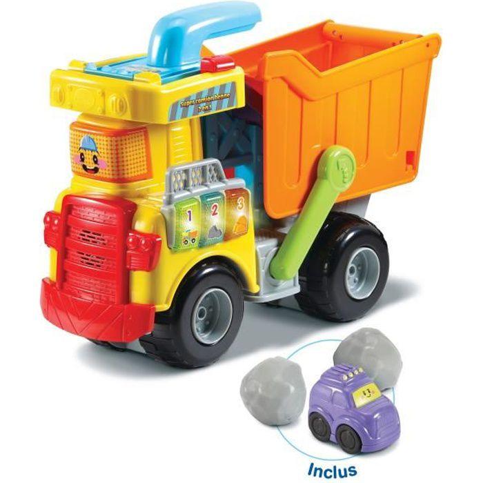 Vtech - Tut Tut Bolides - Mon super camion benne 2 en 1