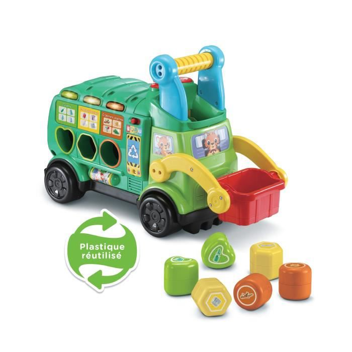 VTECH BABY - Maxi Camion Poubelle Recyclo'Formes
