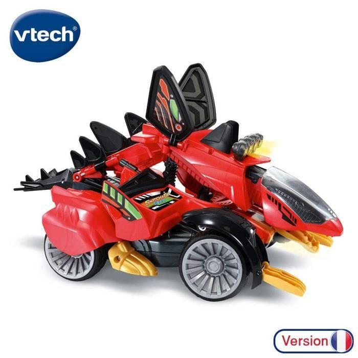 VTECH - SWITCH & GO DINOS - Braxor, le Méga Stégosaure RC