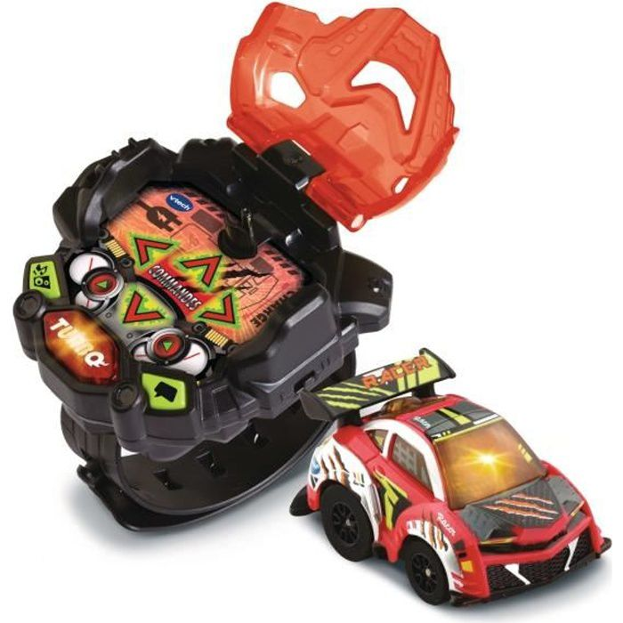 VTECH - TURBO FORCE - Voiture Rouge + Montre