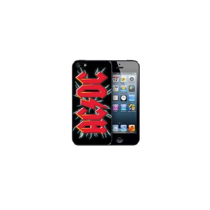coque iphone x acdc
