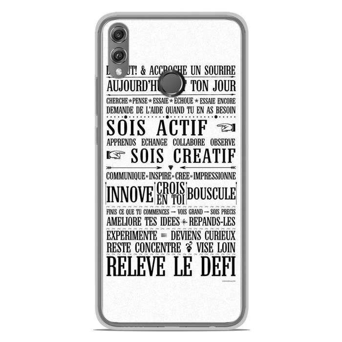 Coque Housse Huawei Honor 8X en silicone gel prote
