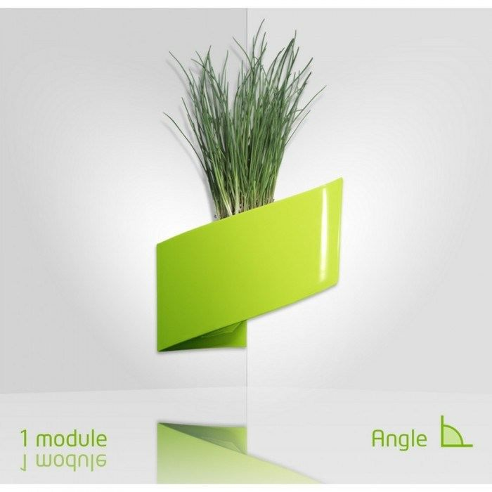 Jardini re murale verte vegeta turn achat vente for Plante verte murale