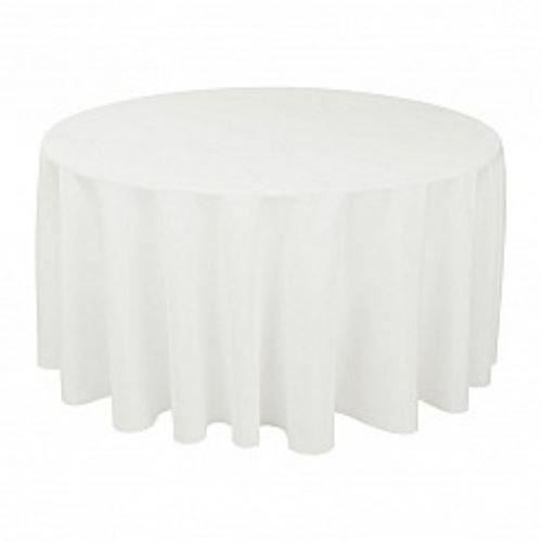 nappe ronde blanche achat vente nappe ronde blanche pas cher cdiscount. Black Bedroom Furniture Sets. Home Design Ideas