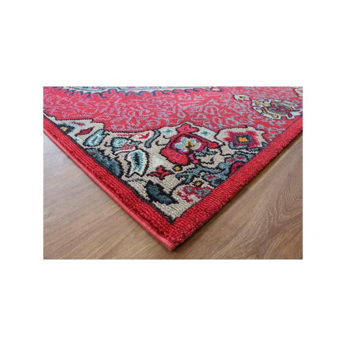 benuta tapis orient colores rouge 80x150 cm achat vente tapis cdiscount. Black Bedroom Furniture Sets. Home Design Ideas