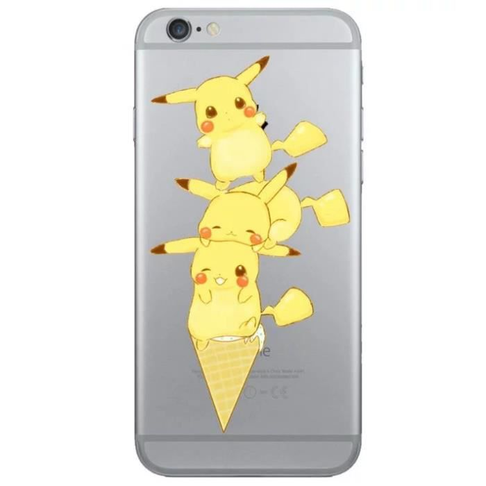 coque iphone 8 pikachu