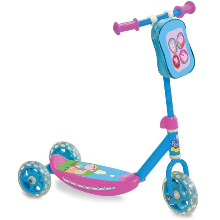 peppa pig my first scooter trottinette 3 roues achat. Black Bedroom Furniture Sets. Home Design Ideas