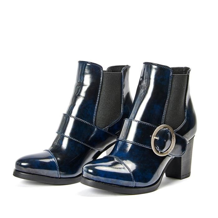 Boots, Bottines Les P'tites BombesBottine 4-Chantal Navy