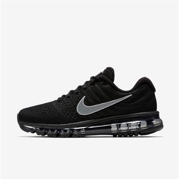 check out 9c272 0a786 NIKE Basket Femme Air Max 2017 - Toile - Noir