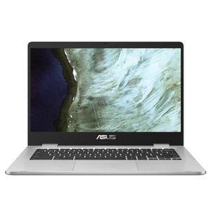 Achat discount PC Portable  ASUS Ordinateur portable Chromebook C423NA-BV0051 - 14 pouces HD - Celeron N3350 - RAM 4 Go - Stockage 64 Go - Chrome