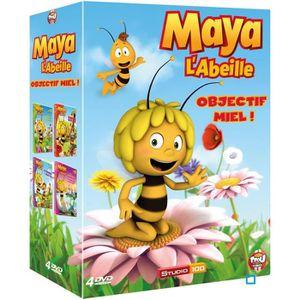 DVD DESSIN ANIMÉ DVD Coffret Maya l'abeille - objectif miel, vol...