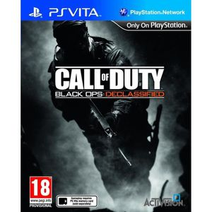 JEU PS VITA Call Of Duty Black Ops Declassified Jeu PS Vita