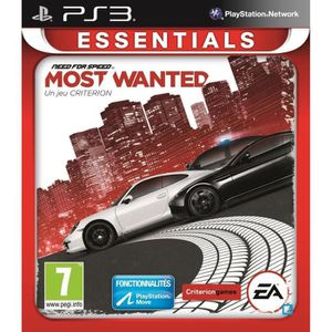 JEU PS3 NEED FOR SPEED MOST WANTED ESSENTIALS / PS3