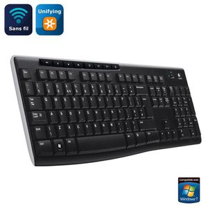 CLAVIER D'ORDINATEUR Logitech Wireless Keyboard K270