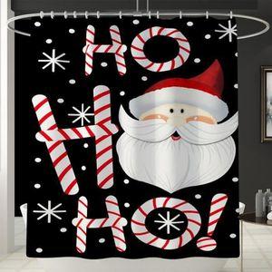 Dekostoff Drôle de Noël Père Noël SECRET rideaux coussin poches Prix = 0,5 m