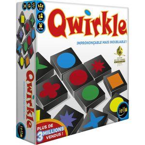 JEU SOCIÉTÉ - PLATEAU IELLO Qwirkle - Jeu de société familial - Dès 6 an
