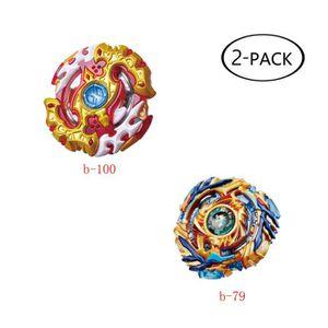 TOUPIE - LANCEUR Joy [2 Pack] Toupie Beyblade Burst - Puzzle Jouets