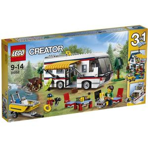 ASSEMBLAGE CONSTRUCTION LEGO® Creator 31052 Le Camping-Car