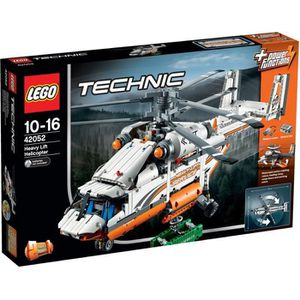 ASSEMBLAGE CONSTRUCTION LEGO® Technic 42052 L'Hélicoptère de Transport