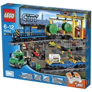 ASSEMBLAGE CONSTRUCTION LEGO® City 60052 Le Train de Marchandises